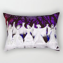Midnight Prayers for the Living Sisters Rectangular Pillow