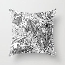 PHO BW Throw Pillow