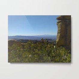 Natural View Metal Print