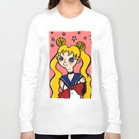 sailormoon Long Sleeve T-shirts featuring Sailormoon! by poetickles
