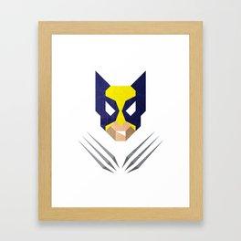 The Triangulars: W0lverine Framed Art Print
