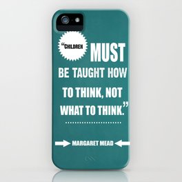 Famous Author Inspirational childrens Quote iPhone Case