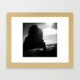Red Rocks Sundown Framed Art Print