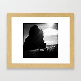 Red Rocks Sundown Framed Art Print