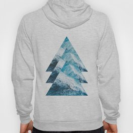 Abstract Ocean Waves No1 Hoody