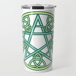 Celtic Pentacle Travel Mug