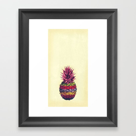 Job's pine Framed Art Print
