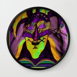 MARDI ARTY Wall Clock