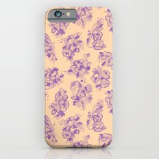 Lavender Dream Flowers Slim Case iPhone 6s