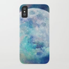 Moon + Stars iPhone Case