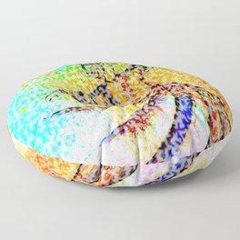 Sufi , Art Floor Pillow