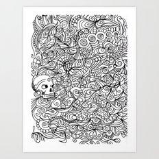 MEMENTO MORIARTY Art Print