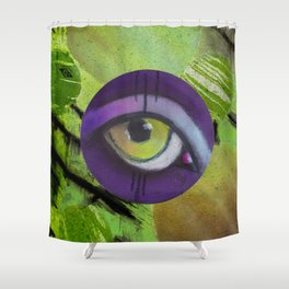 eye only II Shower Curtain
