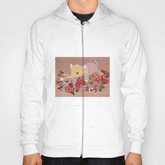 Elephant in the flowers Hoody