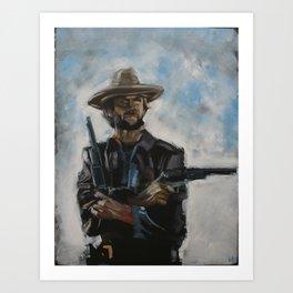 The Man From Malpaso Art Print
