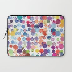 Watercolor Drops Laptop Sleeve