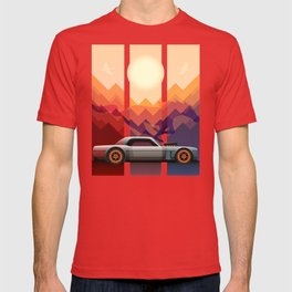 Into the Sun, Ford Mustang 65 KB T-shirt