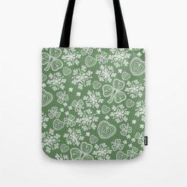 Irish Lace Tote Bag
