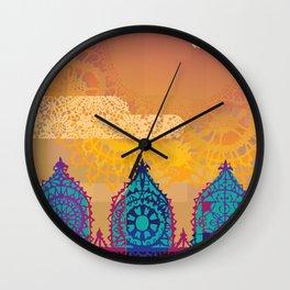 Chantily Castle II Wall Clock