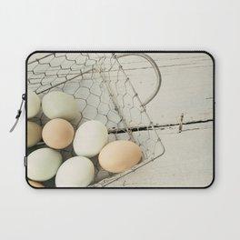 Eggs in one basket Laptop Sleeve