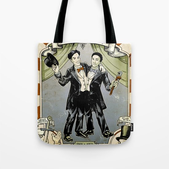 Conjoined in the Morning Tote Bag