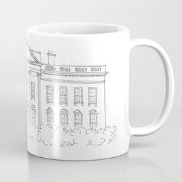 White House Drawing Coffee Mug