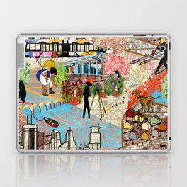 Urban Sightings Collage Laptop & iPad Skin