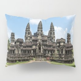 Angkor Wat East Entrance, Cambodia Pillow Sham