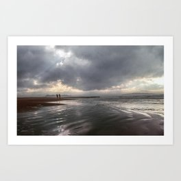 Tybee Storms Art Print