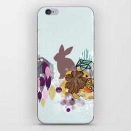 Easter bunny wonderland iPhone Skin