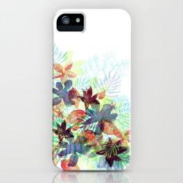 Acqua Floral iPhone Case