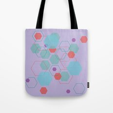 Hexagon Little Mermaid Tote Bag