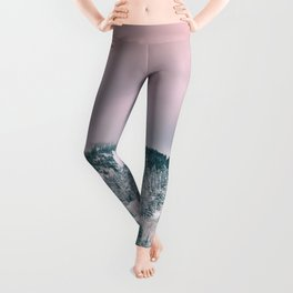 Blush Sky in Woodland Heights Leggings