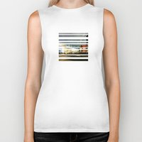 broadway Biker Tanks featuring Broadway In The Now... by PHTP Studio