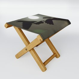 By the light of the full moon Folding Stool
