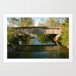 Switzer Bridge Art Print