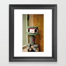 mono Framed Art Print
