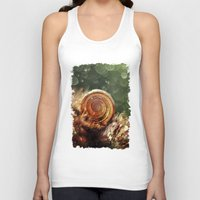 forrest Tank Tops featuring Magic forrest by Jablam