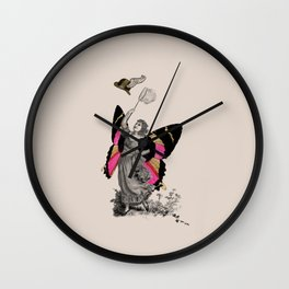 Collage 04 Wall Clock