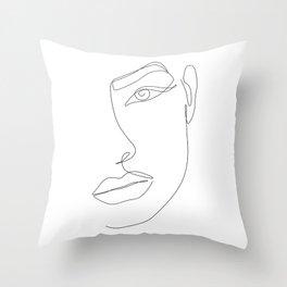 Eye Connection Throw Pillow