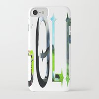 golf iPhone & iPod Cases featuring Golf by Dymond Speers