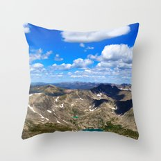 Above the World Throw Pillow