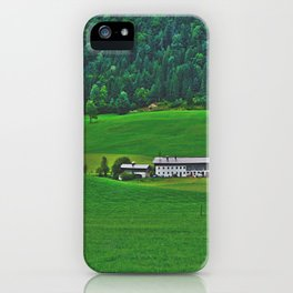 Old farmhouse in Tyrolrmhouse in Tyrol iPhone Case