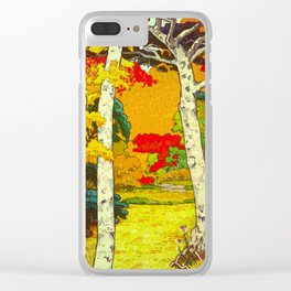 Home at Syin Clear iPhone Case