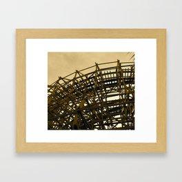 Abandoned Coaster I Framed Art Print