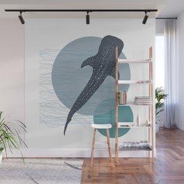 Whale Shark Wall Mural