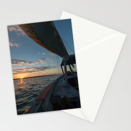 Sunset from a Dhow Stationery Cards