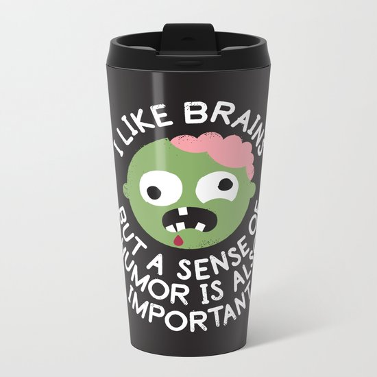 Of Corpse Metal Travel Mug