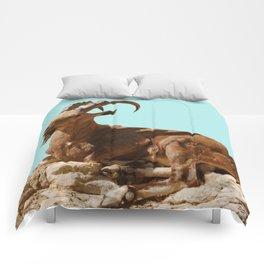 Nubian Ibex Comforters