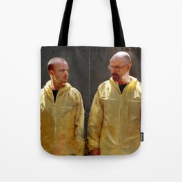 Walter White And Jesse Pinkman - Time To Cook Tote Bag
